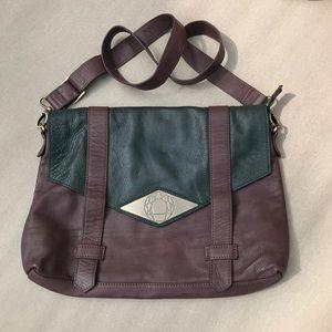 Mohekann Leather Cross Body Messenger Bag